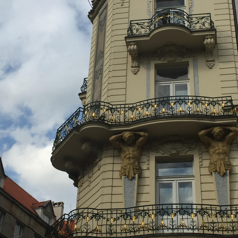 Fassade Prag