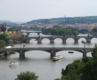 Brückenpanorama Prag