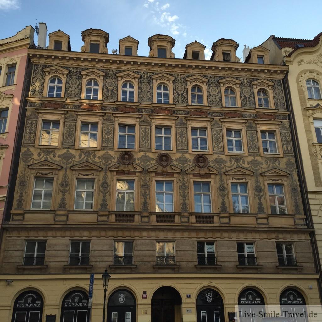 Prag Fassade Haus