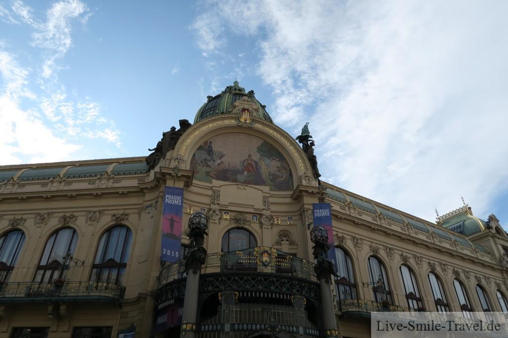Sehenswürdigkeit Obecni dum Prag