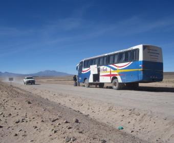 Bild Bus Wüste